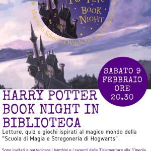 HARRY POTTER IN BIBLIOTECA